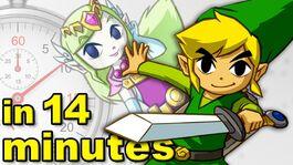 History of Zelda Breath of the Wild
