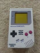 Game Boy Original Iveco Ford Truck