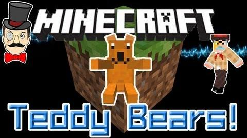 Minecraft Mods - TEDDY BEAR Mod! Put Teddies In Your House!