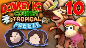 Donkey Kong Country Tropical Freeze Part 10 - Leave No One Behind