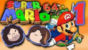 Super Mario 64 Part 1 - Pachinko Town