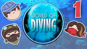 World of Diving Part 1 - Down The Pipe