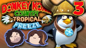 Donkey Kong Country Tropical Freeze Part 3 - iKong