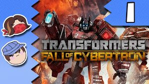 Transformers Fall of Cybertron Part 1 - Prime Business