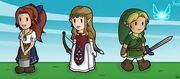 The Legend of Paper Zelda