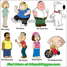 Tag Your Friends as Family Guy on Facebook & MySpace