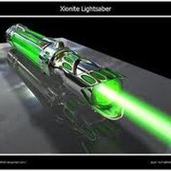 This is Starkiller's lightsaber hilt.