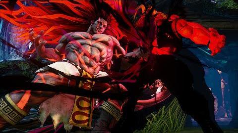 Street Fighter V Necalli Reveal Trailer