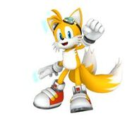 Sonic Riders Tails