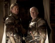 Jaime Lannister and Barristan Selmy