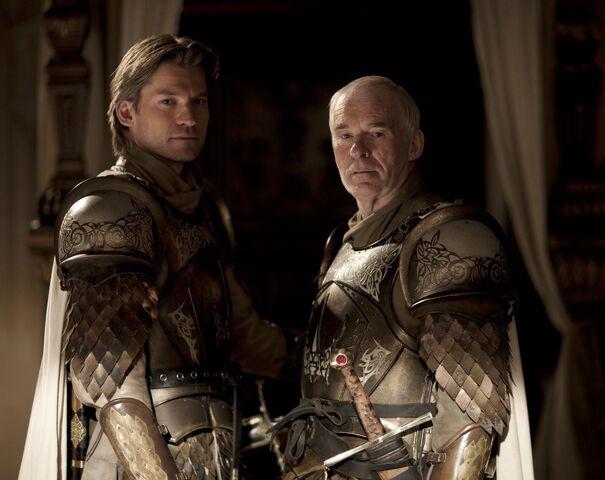 File:Jaime Lannister and Barristan Selmy.jpg