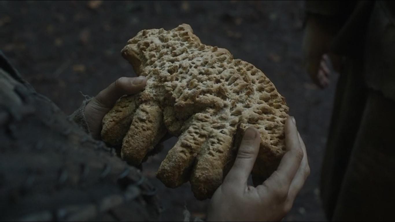 Risultati immagini per Hot Pie wolf-shaped bread