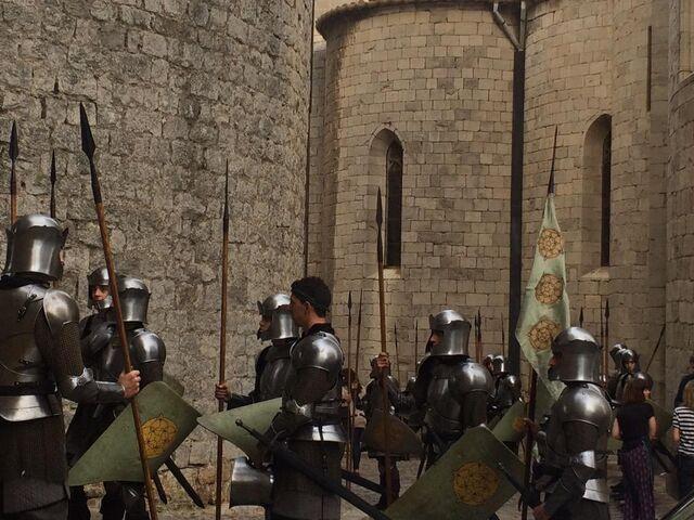 File:Season 6 behind the scenes Tyrell infantry costumes.jpg