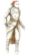 Wildling costume concept art