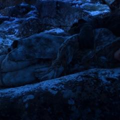 Jon Encontra-se com Ygritte para se manter quente em