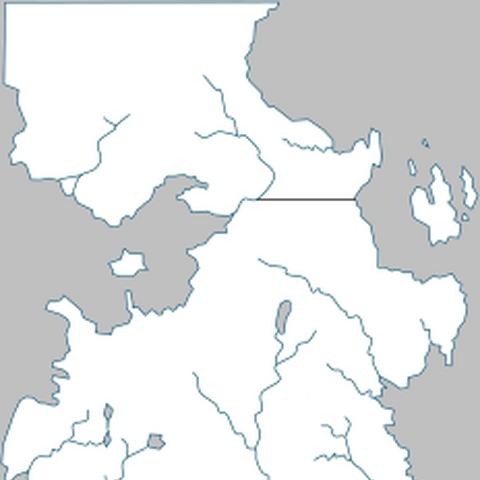Рейвентрі на мапі Вестеросу