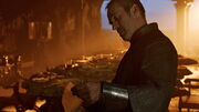 Stannis is shown the letter from the Night's Watch