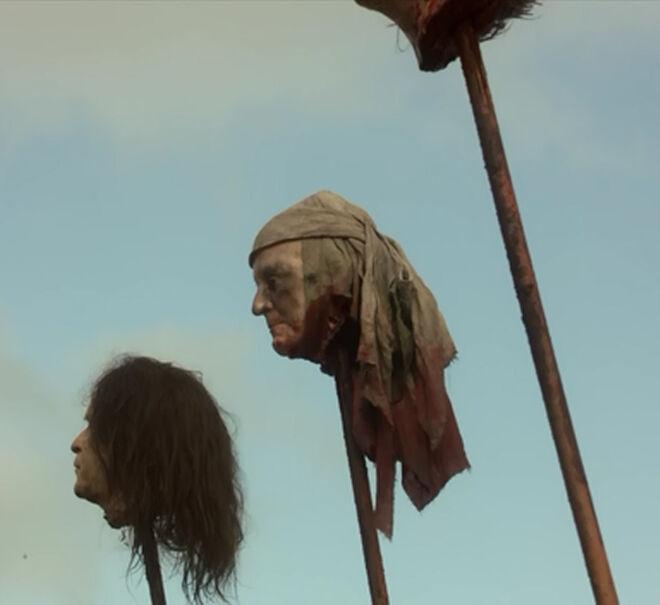 George W Bush severed-head S01E10
