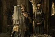 Olenna Tyrell and Margaery Tyrell after Margary's release from the Faith Millitant