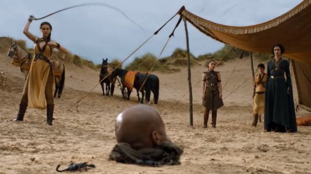 File:Sand Snakes torture with scorpions.png