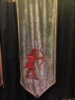 House Tarly banner GOT exhibition