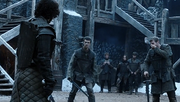 Lord Snow fights and trains