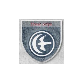 Щит з символом Дому Аррен з HBO viewer's guide.