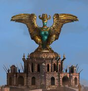 Harpie Statue Concept Art