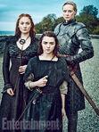 EW Sansa Arya Brienne 2