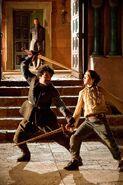 Arya, Ned and Syrio 1x03