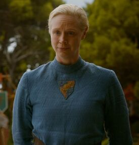 Brienne costume Purple Wedding 2