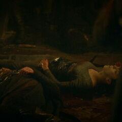Robb Stark's body in