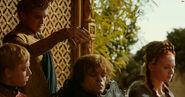 Joffrey+tyrion wine-spill