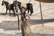 Jessica Henwick-Photo Helen Sloan HBO Nym Sand