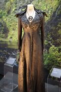 Dark Sansa costume exhibit