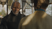 Barristan confronts jorah