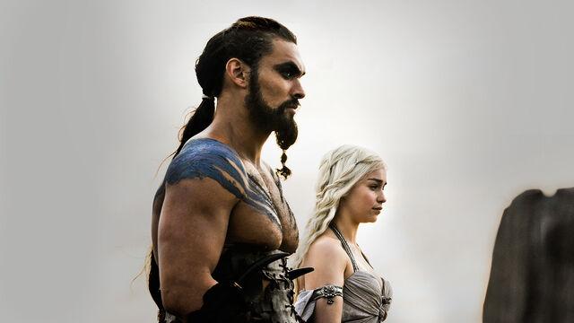 File:Drogo and Daenerys.jpg
