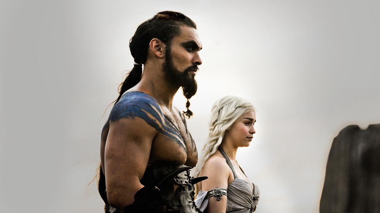 Daenerys targaryen and khal drogo wallpaper daenerys targaryen wedding - Drogo And Daenerys