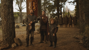 Podrick with tyrion and bronn waiting for doran martell