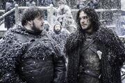 Jon and Samwell The Dance of Dragons