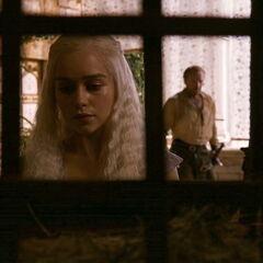 Дейенеріс просить Джораха Мормонта знайти її драконів.