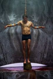 Timos crucified