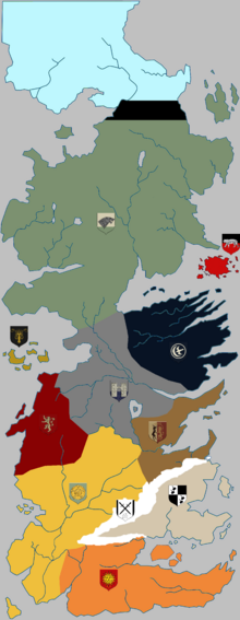 Regions of Westeros (fanon) 2