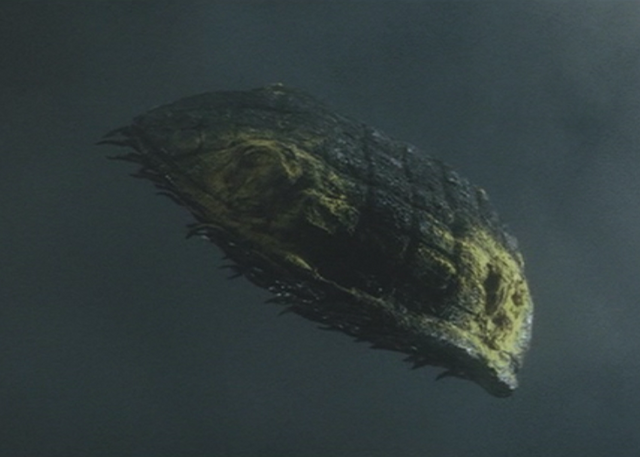 File:Gamera - 3 - vs Gyaos - 24 - Gamera shell fire is put out.png
