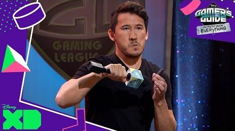 Gamer's Guide to Pretty Much Everything Host Markiplier! Official Disney XD UK-1
