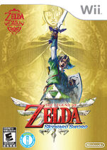 Skyward Sword US Box Art