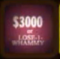 $3000 Or Lose One Whammy Pink