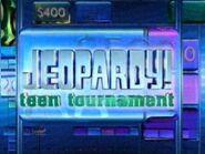 Jeopardy! Season 21 Teen TournamentTitle Card