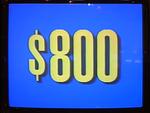 Jeopardy! 1991-1996 set $800 figure