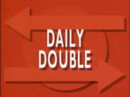 Jeopardy! Season 7 Daily Double red title card